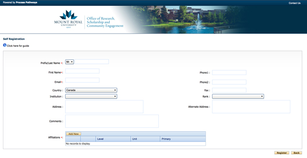 RegistrationPage_Blank_ROMEO_2